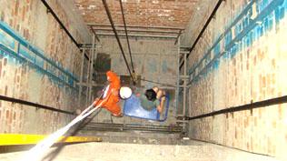 电梯井渗漏水治理方案二