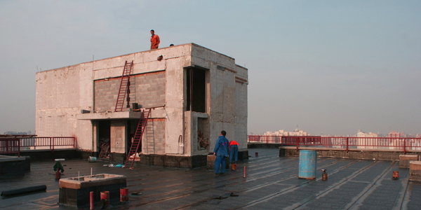 混凝土屋面防水解決方案