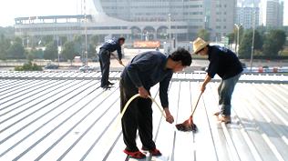彩钢板屋面渗漏水解决方案