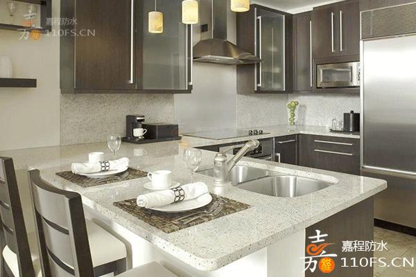 家庭厨房防水要怎么做?来看看嘉程防水的安装处理方法吧!